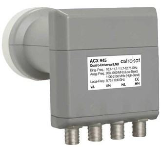 Image of ACX 945 Low Noise Block downconverter (LNB) Grå