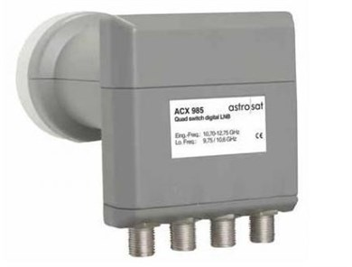 Image of ACX 985 Low Noise Block downconverter (LNB) Grå