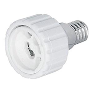 Image of   Adapter E14 til GU10, 2 stk.