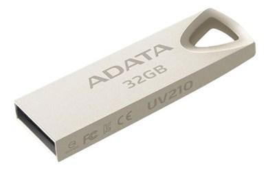 Billede af 32GB USB memory, USB 2.0, metallic finish, gold