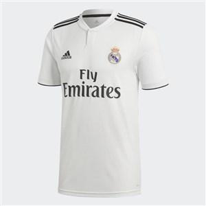Image of   Kortærmet fodboldtrøje til mænd Adidas Real Madrid Hvid 18/19 (1ª) XL