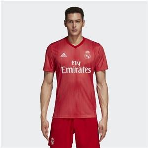 Image of   Kortærmet fodboldtrøje til mænd Adidas Real Madrid Rød 18/19 (3ª) XL