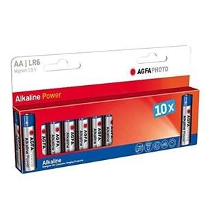 Image of   110-803951 husholdningsbatteri Engangsbatteri AA Alkaline