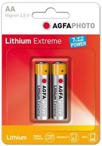 Image of 2x Lithium Mignon AA Engangsbatteri