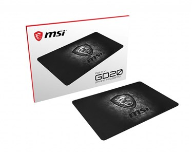 Billede af AGILITY GD20 Pro Gaming Mousepad '320mm x 220mm, Pro Gamer ultra-smooth textile surface, Iconic Dragon design, Anti-slip and shock-absorbing rubber base'