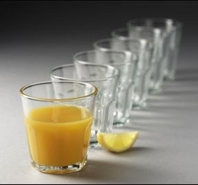 Image of   atelier glas granit - kaffeglas/cafe au lait (6 stk)