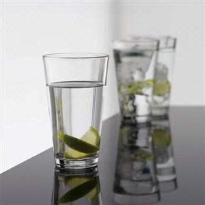 Image of   café vandglas høj 4 stk 32,5 cl