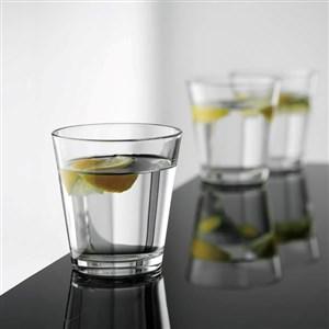 Image of   café vandglas lav 4 stk 26,5 cl