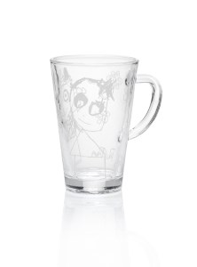 aida Poul Pava Hot drink glass pure friends 20 cl.