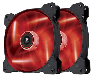 Image of   Air SP140 LED Twin Pack Computer case Fan