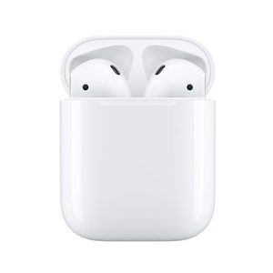 Image of   AirPods (2nd generation) MV7N2ZM/A headphones/headset In-ear White