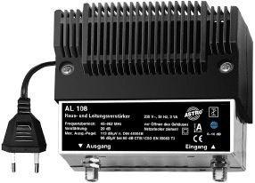 Image of AL 108 forstærker til TV signal