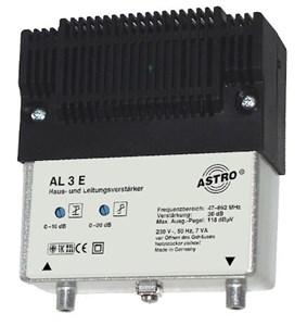 Image of AL 3 E forstærker til TV signal 47 - 862 Mhz