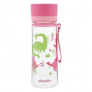 Image of   Aveo vandflaske 0,35L, pink dinosaur - A10-01101-093