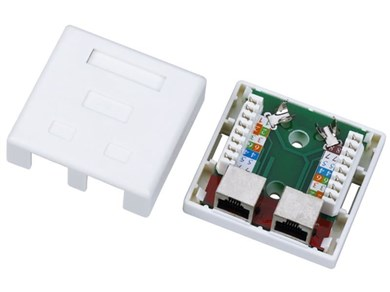 A-LAN Alantec GN004 wire connector RJ45 White