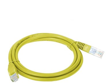 A-LAN Alantec KKU5ZOL3 networking cable 3 m Cat5e U/UTP (UTP) Yellow