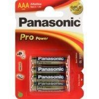 Image of   Alkaline Pro Power Gold Panasonic Batteri