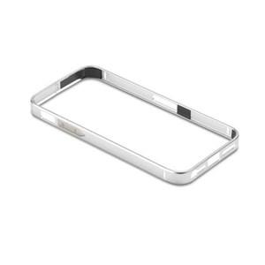 ALU11 mobiltelefon etui Ramme Sølv
