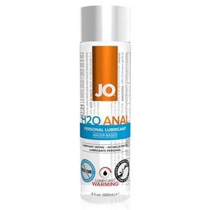 Anal H2O Glidecreme Varmende 120 ml System Jo 40110