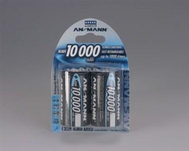Image of   10000 mAh - Mono / D / HR20 Nikkel-Metalhydrid (NiMH)