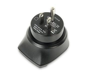 Image of 1250-0002 strømstik adapter Type F Sort