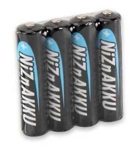 Image of   1322-0005 husholdningsbatteri Genopladeligt batteri Nikkel-zink (NiZn)