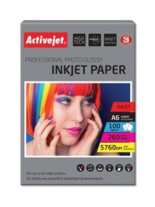 AP6-260GR100 photo paper for ink printers