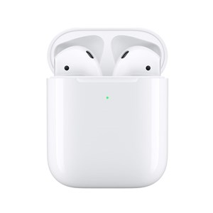 Image of   AirPods (2nd generation) MRXJ2ZM/A hovedtelefoner/headset I ørerne Hvid