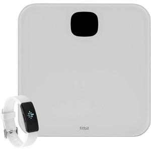 Image of   Aria Air + Inspire HR Elektronisk personlig vægt Firkant Hvid