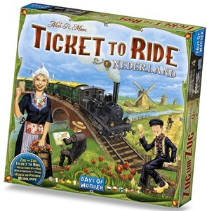 Image of Ticket to Ride Map Collection #4 Nederland
