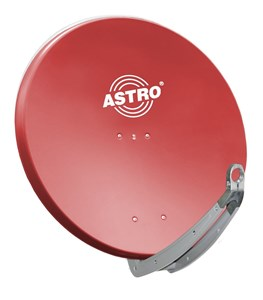 Image of ASP 78 R satellitantenne Rød