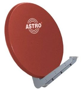 Image of ASP 85 R satellitantenne Rød