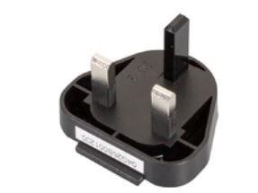 Image of 04G26B001200 strømstik adapter Type D (UK) Sort