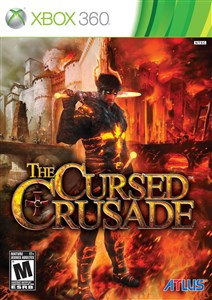Image of The cursed crusade, Xbox 360 videospil
