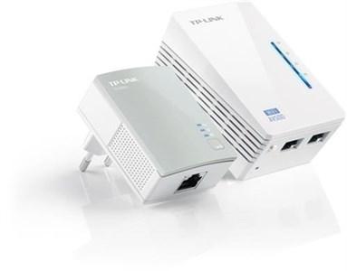 AV500 WiFi Powerline Extender Starter Kit, to enheder, 500Mbps