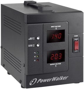 AVR 1500 SIV, 2x Schuko outlets, 1500VA, 0,80 OPF, black