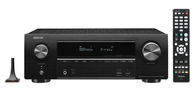 Denon AVR-X1600H AV receiver 80 W 7.1 channels Surround 3D Black