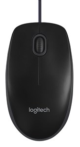 B100 Optical Business Mouse, Black (OEM)
