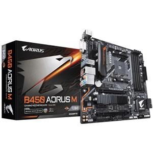 Image of   B450 AORUS M (rev. 1.0) bundkort Stik AM4 Micro ATX AMD B450