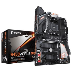 Image of   B450 AORUS PRO (rev. 1.0) bundkort Stik AM4 ATX AMD B450