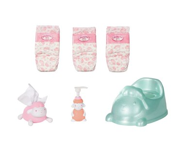 Baby Annabell Baby Annabell Potty Set Potte