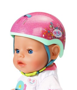Image of BABY born Play&Fun Bike Helmet Dukke hjelm