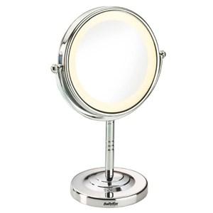 Image of 8435E makeup spejl Fritstående Rund Rustfrit stål