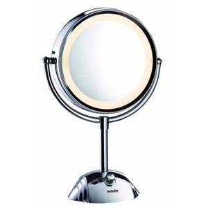 Image of 8438E makeup spejl Fritstående Rund Rustfrit stål