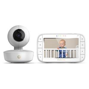 """Image of   Babymonitor MBP55 Genopladelig Babyenhed, 5"""" Display Forældreenhed"""