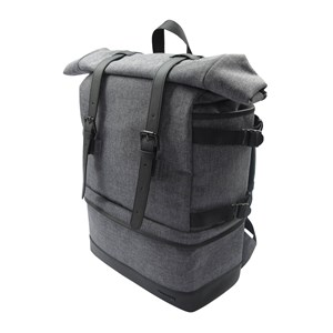 Image of   BACKPACK BP10 GREY TEXTILE