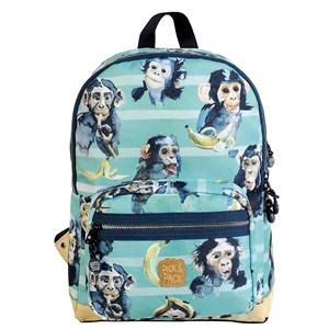 Image of   Backpack chimpanzee turqoise