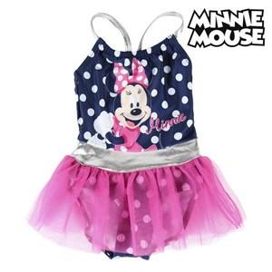 Billede af Badedragt til piger Minnie Mouse Marineblå 4 år