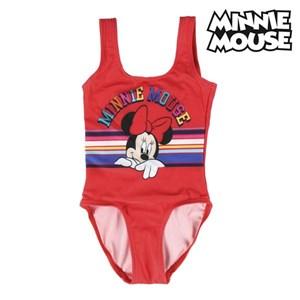 Billede af Badedragt til piger Minnie Mouse Rød 4 år