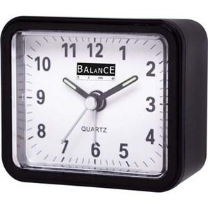 Image of   Balance | Alarm Clock | Analogue | Black
